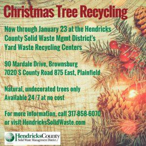Christmas Tree Recycling--Brownsburg Yard Waste Recycling Center @ Brownsburg Yard Waste Recycling Center | Brownsburg | Indiana | United States